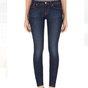 J Brand Dark Wash 811 Mid Rise Skinny Jean Legging